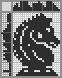 Японский кроссворд Шахматный конь