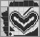 Японский кроссворд Сердце