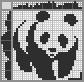 Японский кроссворд Панда