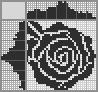 Японский кроссворд Роза