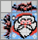 Японский кроссворд Санта Клаус