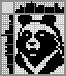 Японский кроссворд Черный медведь