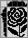 Японский кроссворд Цветок роза
