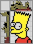 Японский кроссворд Барт