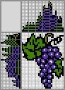 Японский кроссворд Виноград