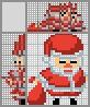 Японский кроссворд Санта с мешком