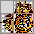 Японский кроссворд Тигр
