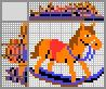 Японский кроссворд Лошадка-качалка