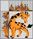 Японский кроссворд Жирафик