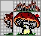 Японский кроссворд Лесной грибок