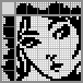 Японский кроссворд Портрет девушки