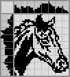 Японский кроссворд Голова лошади