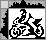 Японский кроссворд Мотоциклист