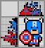 Японский кроссворд Капитан Америка