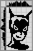 Японский кроссворд Женщина-кошка