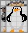 Японский кроссворд Шкипер пингвин