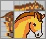 Японский кроссворд Лошадка