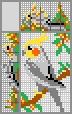 Японский кроссворд Попугайчик