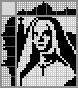 Японский кроссворд Монахиня