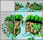 Японский кроссворд Водопад