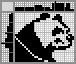 Японский кроссворд Злая панда