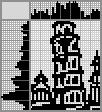 Японский кроссворд Пизанская башня