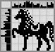 Японский кроссворд Цирковая лошадка