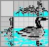 Японский кроссворд Гусь на воде
