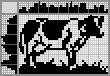 Японский кроссворд Корова на лугу