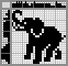 Японский кроссворд Слон