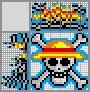 Японский кроссворд Пиратский знак Мугивар
