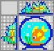 Японский кроссворд Аквариум с рыбкой