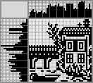 Японский кроссворд Пейзаж дом и лодка
