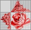 Японский кроссворд Красная Роза