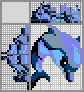 Японский кроссворд Дельфин