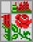 Японский кроссворд Маленькая роза