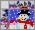 Японский кроссворд Весёлый снеговик