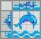 Японский кроссворд Дельфинчик