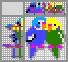 Японский кроссворд Попугайчики