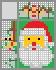 Японский кроссворд Дед мороз