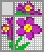 Японский кроссворд Маленький цветок