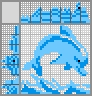 Японский кроссворд Голубой дельфин