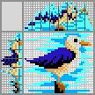 Японский кроссворд Чернохвостая чайка