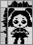 Японский кроссворд Кукла LOL