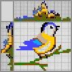 Японский кроссворд Птичка