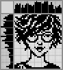 Японский кроссворд Юная девушка в очках