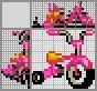 Японский кроссворд Трёхколёсный велосипед