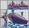 Японский кроссворд Грузовой корабль