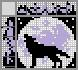 Японский кроссворд Волк и луна