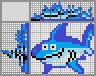 Японский кроссворд Акула